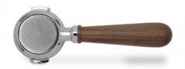 Lelit bundløs filterholder valnød 58mm PLA580W-20