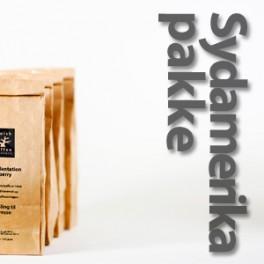 Sydamerika pakke 4x225 gram - rå bønner
