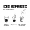 ICED Espresso Original, Bag-In-Box BIB, 3 liter, 96 shots