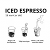 2 x ICED espresso Koffeinfri Original